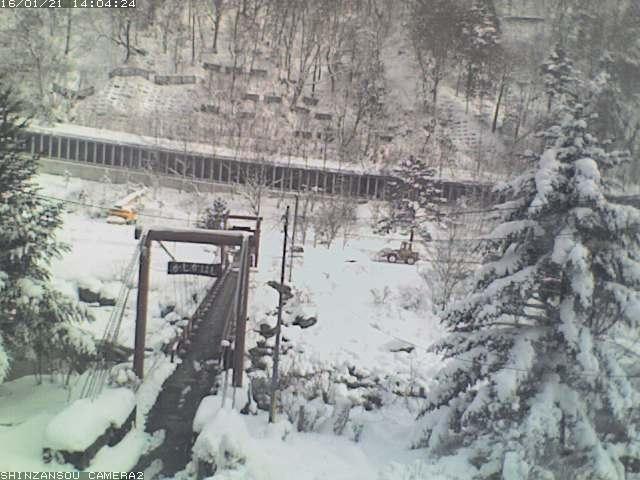 深山荘ライブカメラ画像です。 この画像はおよそ10分おきに更新されています。