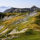 9.草黄葉と笠ヶ岳
