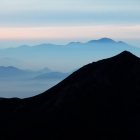 60.常念岳と浅間山