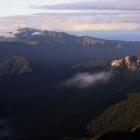 113.焼岳と乗鞍岳