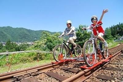 レールマウンテンバイクガッタンゴー飛騨市神岡町