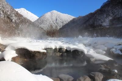 深山荘混浴露天風呂